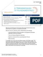 LZU1022056 R2A Microwave Transmission Technology Fundamentals - Regulation