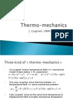 Thermo Mechanics