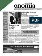 Periódico Economía de Guadalajara #36 Junio 2010