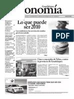 Periódico Economía de Guadalajara #31 Enero 2010