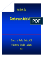 Carbonate Acidizing AH