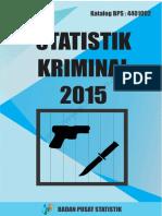 Statistik Kriminal 2015