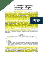 Nacija i konflikti u procesu globalizacije - Skripta