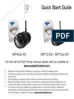 Vortech MP40w-Es QuickStart Manual