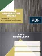 PPT Referat Epidermolisis Bulosa