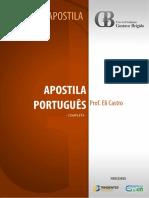 Apostila de Portugus Prof Eli Castro 2015