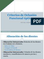 criterios de oclusion
