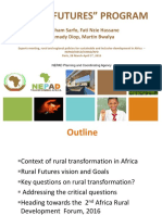Experts meeting, rural and regional policies for sustainable and inclusive development in Africa – NEPAD/OECD/CIRAD/AFD
