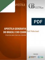 Apostilas Geografia Do Brasil e Do Cear Pm Ce Pedro Israel