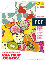 Asia Fruit Logistica 2016 Hong Kong Brochure