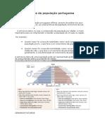 Estrutura Etária Da População Portuguesa