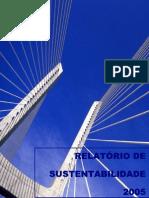 Relatório de Sustentabilidade 2005