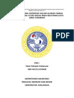 Evaluasi Penerapan Akuntansi Biaya Tenaga Kerja Dalam Penetapan Gaji