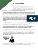 Introducción a Forex Trading Software