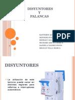 Disyuntores y Palancas intalacios