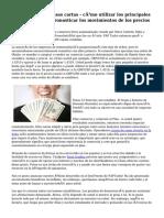 El comercio de divisas cartas - cómo utilizar los principales indicadores para pronosticar los movimientos de los precios