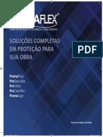 PROTETOR de PISOS Panfleto-expo-promaflex