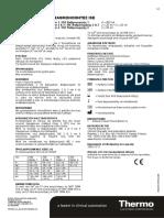 D01659 - Insert ISE Calibrators EL