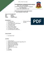 Minit Mesyuarat Panitia Sains Kali Keempat 2015