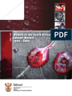 Labour Market Research - Women in the South African Labour Market 1995 - 2005