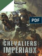 wh40k Codex Chevaliers Impériaux 2014