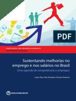 Sustentando Melhorias No Emprego e Nos Salários No Brasil