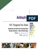 09 - PIN Antinutrisi