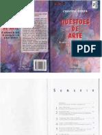 Cristina Costa - Questões de Arte, A Natureza Do Belo, Da Percepção e Do Prazer Estético