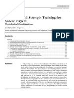Endurance and Strength Training for Soccer Players