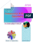 GUIDEBOOK to Clinical Optometry Internship 2016