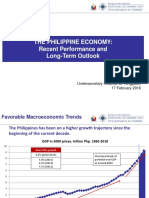 NEDA - The Philippine Economy Recent Performance and Long-Term Outlook