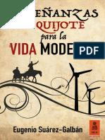 """""""Enseñanzas del Quijote para la vida moderna"""", Eugenio Suárez-Galbán"""