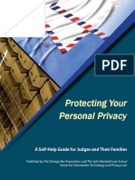 Protecting Personal Privacy