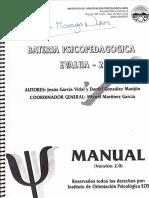 Manual Evalua 2