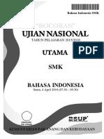 Bahasa Indonesia SMK Pak Anang 2016