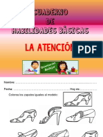 Cuaderno de Habilidades Básicas Atención