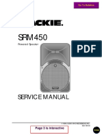 Mackie Srm450 Powered Speaker SM