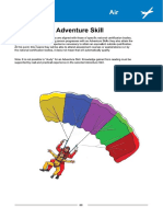 Adventure Skill Air Activities Competency Statements