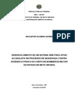 TCC Macleiton Oliveira Soares - Sistema Web