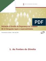 HS 10 Obrigações Legais e Responsabilidades