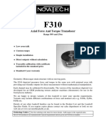 F310 Load and Torque Cell