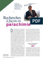 Recherches à façon en parachimie