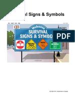survial signs
