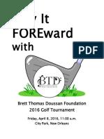 BTD Golf Tournament