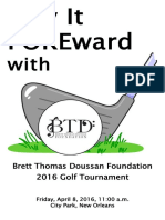 BTD Golf Tournament