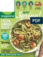 Food Network Magazine - April 2016