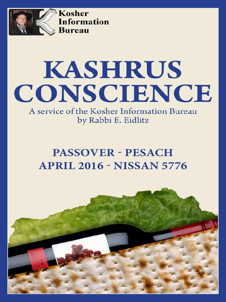 Spam's Combined Pesach Guides 2016 | Pover | Gelatin on