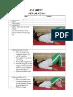 Job Sheet Senam Nifas