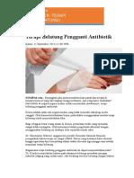Terapi Belatung Pengganti Antibiotik