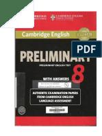 Preliminary English Test 8
